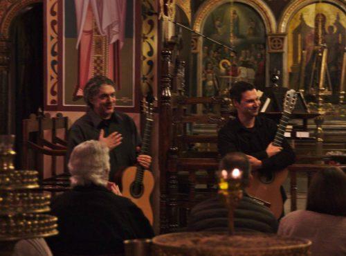 Οι D&A Guitar Duo επιστρέφουν στη Βαμβακού
