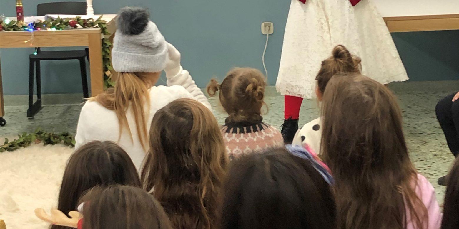 Θεατρικό παιχνίδι στο σχολείο της Βαμβακούς