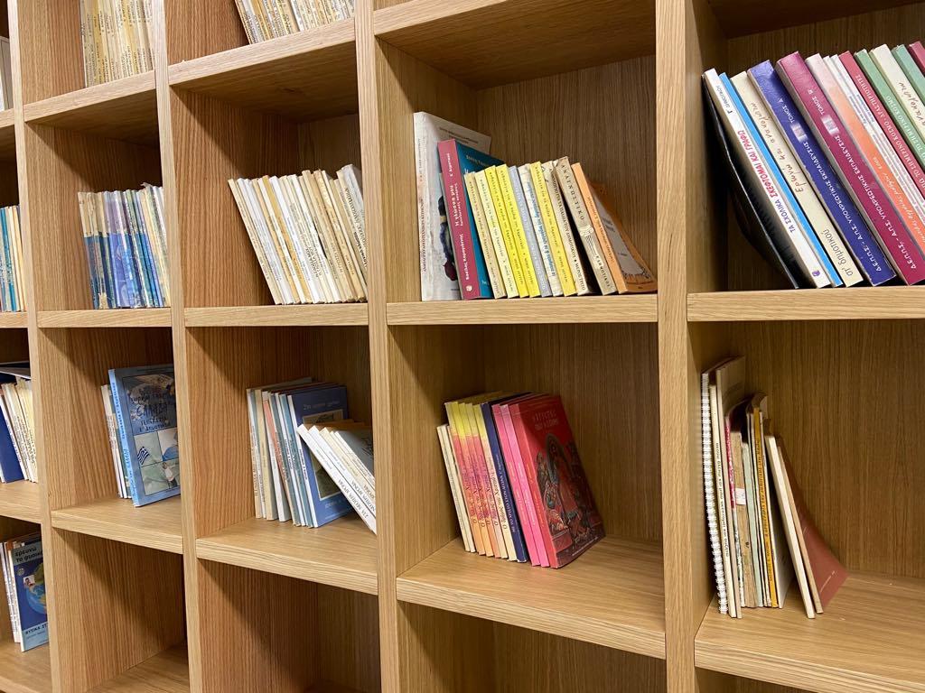 Η διαδικασία συντήρησης αρχείων & βιβλίων της Βαμβακούς