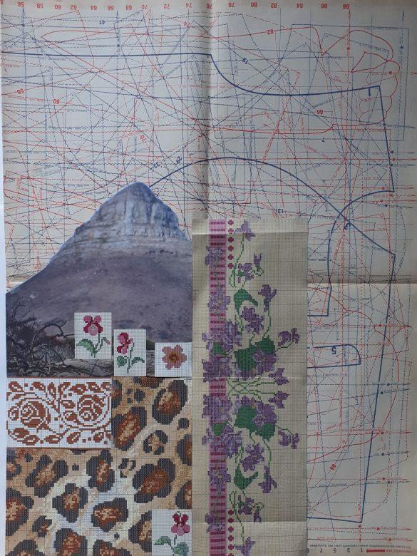 Carla Castajo   A Sketch of Helen's Dress Pattern