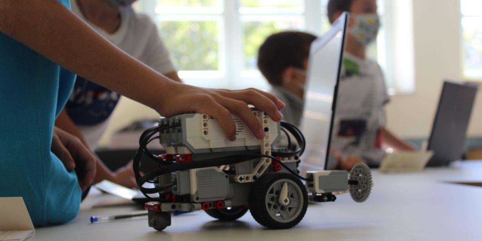 Διαδικτυακό εργαστήριο ρομποτικής για παιδιά