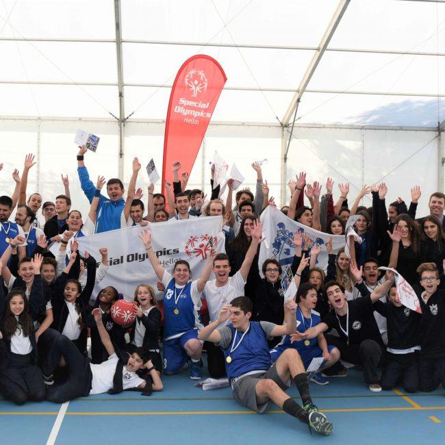 Τα Special Olympics Hellas στη Βαμβακού